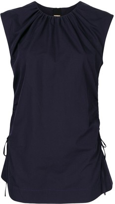 Marni Side Tie Ruched Top