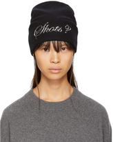 Alexander Wang Black Shots Beanie