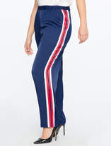 ELOQUII x Katie Sturino Pull on Pant with Side Stripe