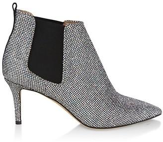 Sarah Jessica Parker Elke Glitter Ankle Boots