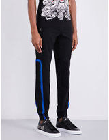 Philipp Plein Mesh Tapered Jogging Bottoms