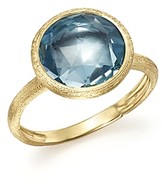 Marco Bicego 18K Yellow Gold Jaipur Ring with Blue Topaz