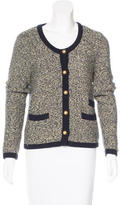 Sandro Wool Button-Up Sweater