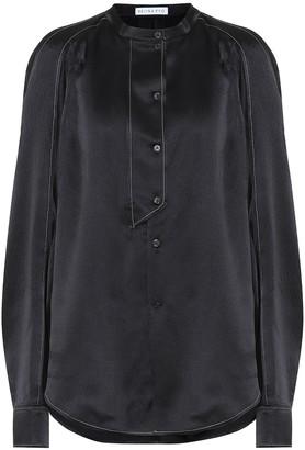 REJINA PYO Marianne silk-satin blouse