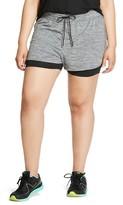 Champion Women's Plus Size Layered Shorts