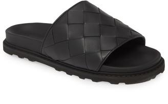 Bottega Veneta Woven Slide Sandal