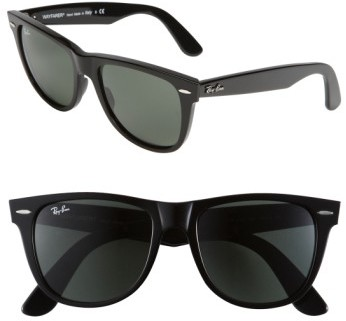 Ray-Ban Women's 'Classic Wayfarer' 50Mm Sunglasses - Black