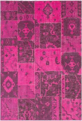 Ecarpetgallery Herbal Vintage Wool Area Rug