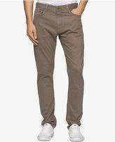Calvin Klein Jeans Men's Slim Straight Sateen Pants