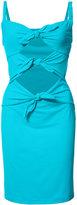 Moschino knot detail beach dress