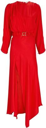Ronny Kobo Carmen Jacquard Midi Dress