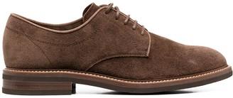 Brunello Cucinelli suede Oxford shoes