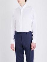 Drakes Regular-fit cotton-poplin shirt