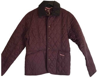 Barbour Burgundy Synthetic Jackets & Coats