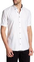 Lindbergh Structured Short Sleeve Regular Fit Shirt