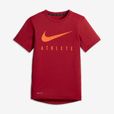 Nike Athlete Big Kids' (Boys') Short Sleeve Training Top