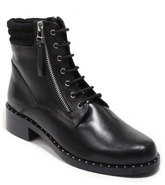 Catherine Malandrino Zoya Leather Combat Boot