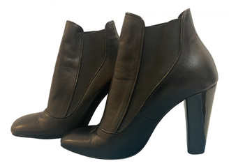Tara Jarmon Black Leather Boots