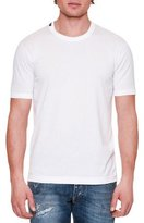 Dolce & Gabbana Basic Short-Sleeve Crewneck T-Shirt, White