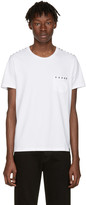 Marc Jacobs White Studded Pocket T-shirt