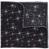 Lanvin Star Print Pocket Square