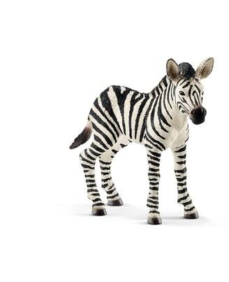Schleich Hand-Painted Figure Zebra foal