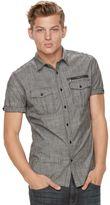 Rock & Republic Men's Chambray Stretch Button-Down Shirt