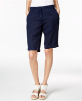 Eileen Fisher Tencel®-Linen Bermuda Shorts