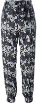 Kenzo 'Moonmap' trousers - women - Polyester/Viscose - 36
