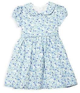 Isabel Garreton Little Girl's Cotton Summer Floral Dress