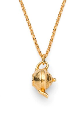 Harry Rocks Gold Teapot Necklace