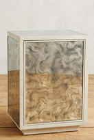 Anthropologie Fontaine Mirrored Nightstand