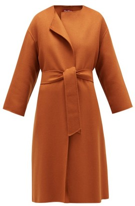 Max Mara Etna Coat - Womens - Brown