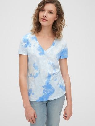 Gap Vintage V-Neck T-Shirt