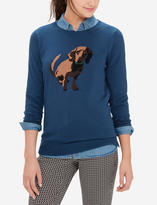The Limited Dog Intarsia Sweater