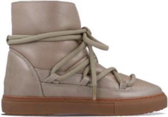 INUIKII Full Leather Sneaker Beige