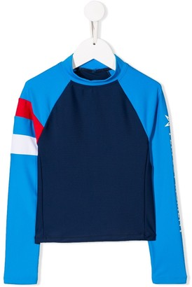 Perfect Moment Kids Colour Block Surfing Rash Guard