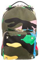 Valentino Mini Rockstud Camouflage Backpack