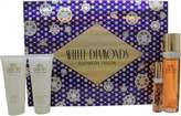 Elizabeth Taylor White Diamonds Gift Set 100mL Edt + 100mL Body Lotion + 100mL Shower Gel + 10mL Edp For Women