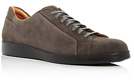Gentle Souls by Kenneth Cole Men's Ryder Suede Low-Top Sneakers
