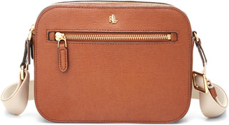 Ralph Lauren Leather Medium Crossbody Bag