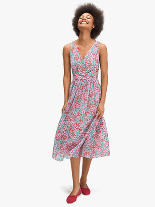 Kate Spade Floral Medley Burnout Dress