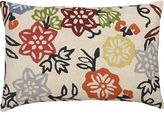 "Crate & Barrel Vintage Garden 18""x12"" Pillow"