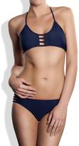 Meli Beach Swimwear - Oia Strappy Bikini Bottom Navy