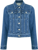 Egrey - denim jacket - women - Cotton - 34