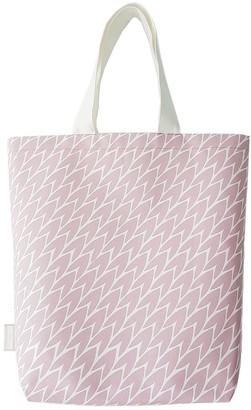 Laura Jackson Design Leaf Tote Bag Pink