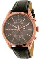 Tommy Hilfiger Men's 1791125 Rose Gold Leather Quartz Watch