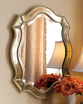 Horchow Felicie Oval Mirror
