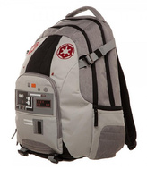Bioworld Gray & Red AT-AT Backpack