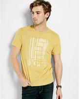 Express brushstrokes graphic t-shirt